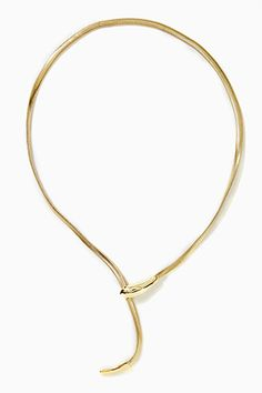 What's An Ouroboros, & Why Are We Wearing It? #refinery29 Nasty Gal Snake Bite Lariat Necklace, $40, available at Nasty Gal.  Just ordered this!