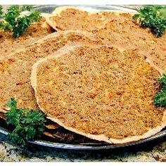 ... Pizza Recipes, Lahmahjoon Armenian, Eat, Eastern Food, Armenian Pizza