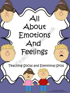 All About Emotions And Feelings Activity Book from Educating Everyone 4 Life on TeachersNotebook.com (29 pages)  - Teaching Emotions and Feelings For Autistic Children and Children Who Need Help With Emotions and Feelings.