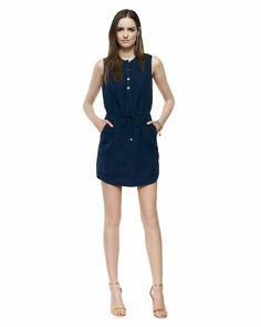 Linen Henley Dress #GoWest