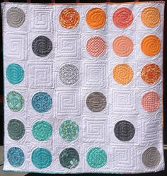 """Divergence Quilt Pattern, 60 x 60"""", Applique pattern by Marian Gallian 