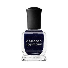Go with a cool dark blue nail polish during the year's chilliest season!