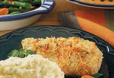 Potato-Crusted Chicken