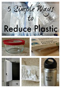 Plastics are everywhere! Try these strategies for using a bit less in your home!