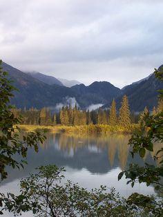 Stikine River,Wrangell-St Elias National Park,Alaska
