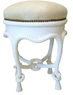 """""""Rope Tabouret,"""" A la Reine Collection by Myra"""