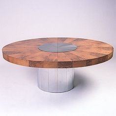 Paul Evans, Dining Table for Directional, 1970s.
