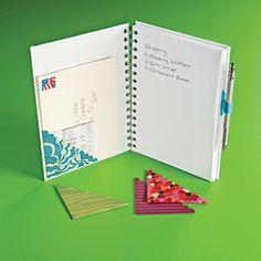 Page Pockets & Pen Loop