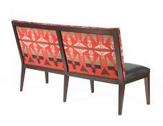 Pearson custom 1912 chair as a bench