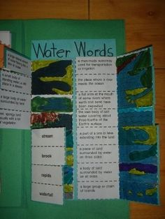 Water Lapbook would go well with a frog unit study