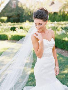 Photography: Marisa Holmes - www.marisaholmesblog.com  Read More: http://www.stylemepretty.com/california-weddings/2014/07/08/romantic-diy-vineyard-wedding/