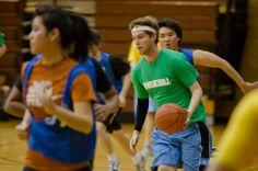 Basketball. Pickup games, HORSE, co-ed leagues.