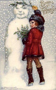 flirty snowman