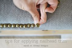 {Tips for Applying Nailtrim}