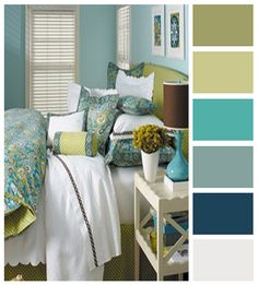 Love the room and the colors