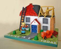 Bob the Builder - Boy's birthday cake