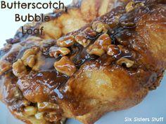 Six Sisters' Stuff: Butterscotch Bubble Loaf Recipe