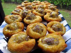 Sausage Biscuit Bites - Football Friday | Plain Chicken