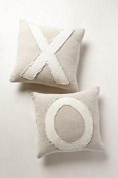 Anthropologie X & O Pillows