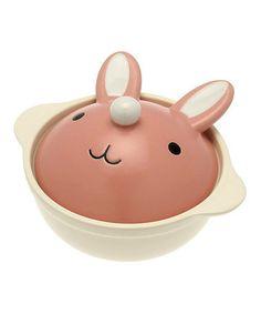 Another great find on #zulily! Bunny Hot Pot by Kotobuki Trading #zulilyfinds