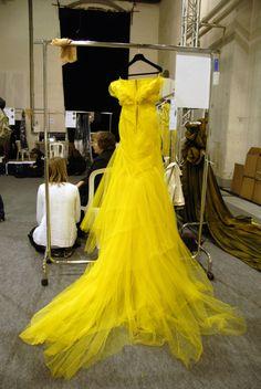 Yellow Yellow Yellow #fashion #yellow #couture