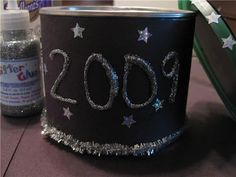 DIY New Years Eve Noise makers, time capsules and other crafts made from household items