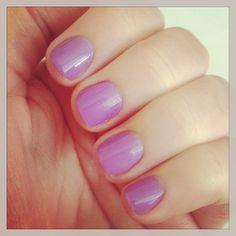 #Shellac shade = Longing. #spring #nails #manicure #gelnails