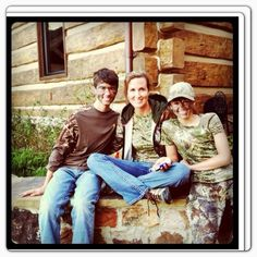 John Luke , mom, & Sadie ...