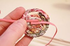 How to for DIY newborn headbands