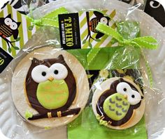 Cute Owl Sugar Cookies!