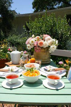 Cute afternoon tea