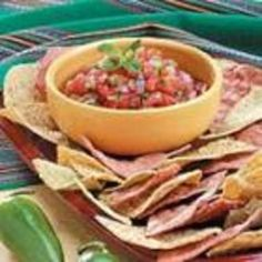 #recipe #food #cooking 10 Minute Zesty Salsa