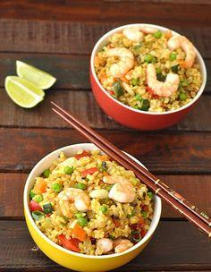 Prawn Fried Rice - http://www.jellypin.com/prawn-fried-rice/