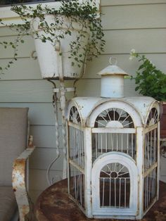 Lovely old birdhouse