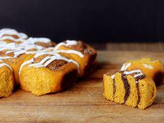 Pumpkin Sweet Swirl Buns | Serious Eats : Recipes