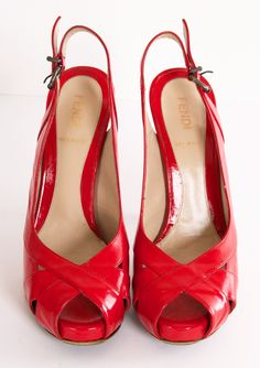 RED FENDI HEELS @Michelle Coleman-HERS - red hot!!!