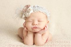 Baby girl newborn photos little girls, baby headbands, newborn photos, babi, baby pictures, baby girls, cozett coutur, vintage inspired, garter belts