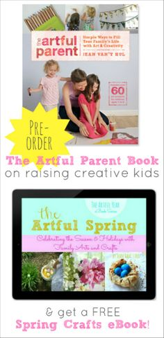 Last chance to get a FREE spring crafts eBook!