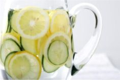 lemon and lime water- do it!