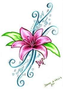 Tats On Pinterest Flower Tattoos Cross Tattoos And Rose