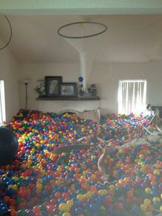 hous room, living rooms, houses, balls, ball party
