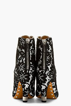 GIVENCHY // Lace Ankle Boots