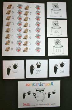 Classroom Freebies: Upper and Lowercase Letter Activities For The Kissing Hand