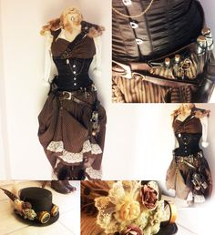 steam punk costume, steampunk awesom, steampunk ladi, pirat costum, costum idea, halloween costum, pirate costumes, steampunk pirat, airship pirat