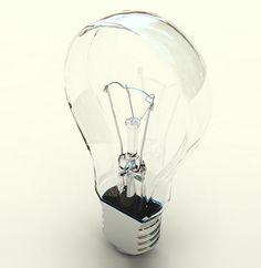 Flat Light Bulb #productdesign