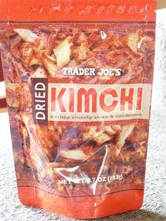 What's Good at Trader Joe's?: Trader Joe's Dried Kimchi