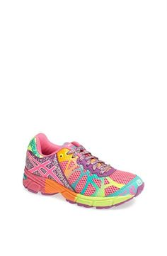 Cute kicks! Colorful running shoes by Asics