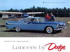 1957 Dodge Custom Royal Lancer.