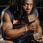 Trent Richardson...great running back :) with awesome arms :)