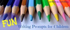 Fun writing prompts for children - In Our Write Minds